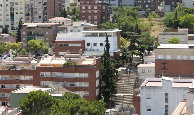 nombre de los barrios de Barcelona