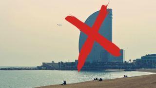 Barcelona sin playa