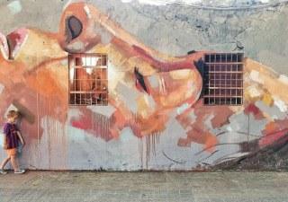 arte callejero de Barcelona
