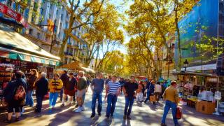 población extrajera en Barcelona