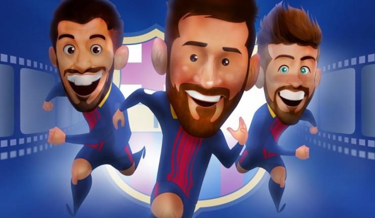 Pixar podría producir una película del Barça