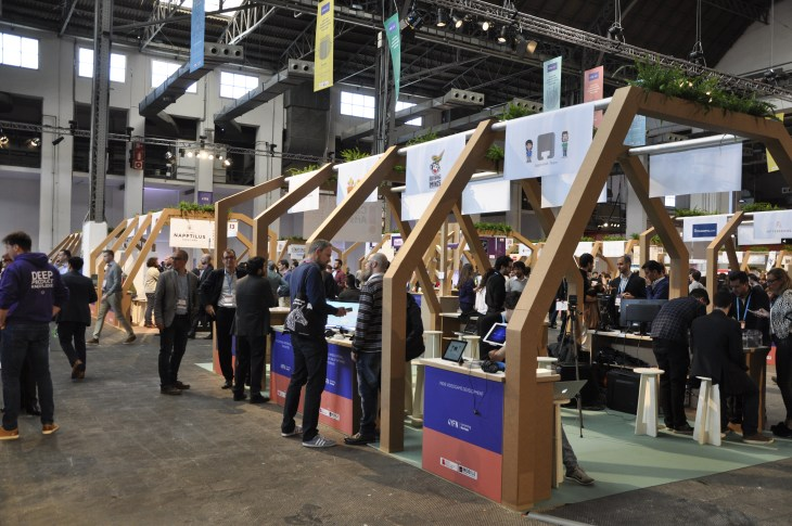 Innovation Market at 4YFN Barcelona 2017 the tech and startup expo of Mobile World Congress.JPG