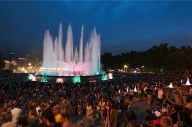 fonteinen montjuïc