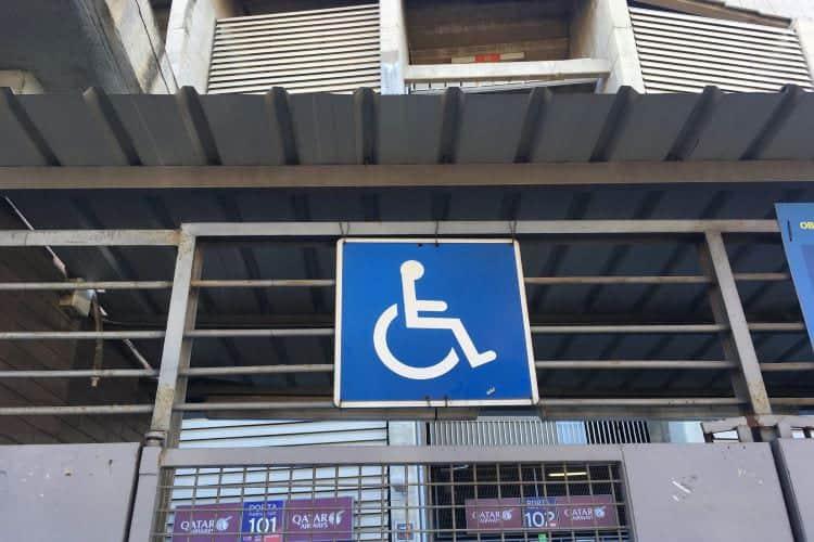 Icoontje rolstoeltoegankelijkheid Barcelona