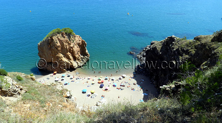 Barcelona 2019  Pictures Costa Brava beaches in Spain