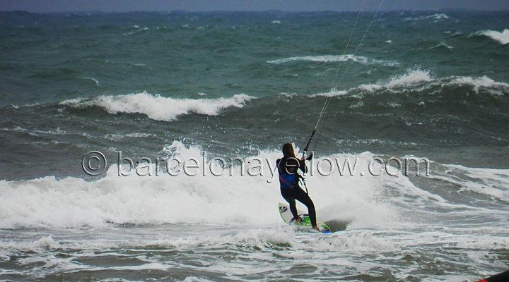 Barcelona 2019  Pictures windsurfing and kitesurfing Barcelona