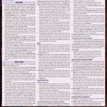 Quick Study QuickStudy Wine: Choose, Taste, Pair & Party Laminated Reference Guide BarCharts Publishing Food &Beverage Lifestyle Outline Back Image