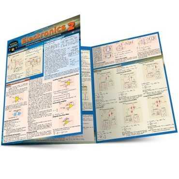 Quick Study QuickStudy Electronics 2 Laminated Reference Guide BarCharts Publishing Engineering Reference Main Image