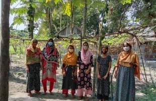 নারী ও কিশোরীর নিরাপদ খাদ্য উৎপাদনে ভূমিকা রাখছে