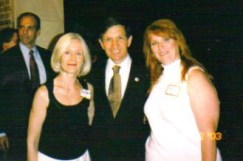 Felicia Barlow Clar With Cong Dennis Kucinich