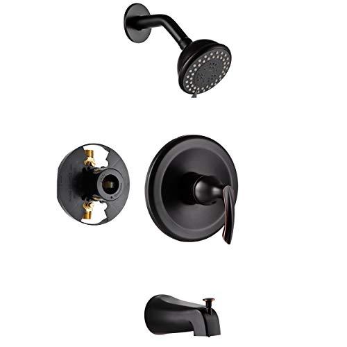 shower trim kit with 4 inch shower head
