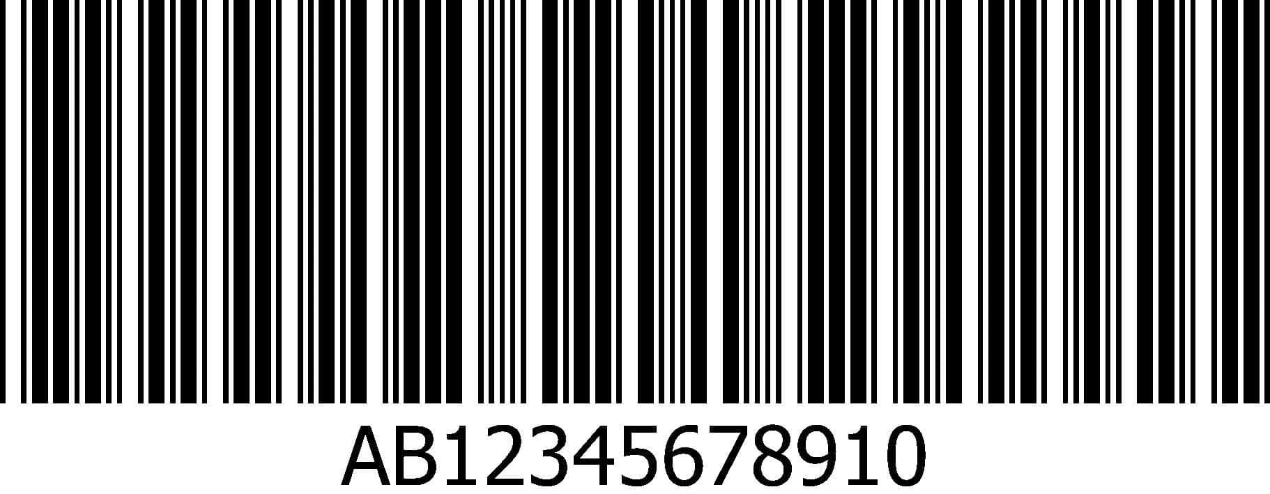 contoh gambar barcode