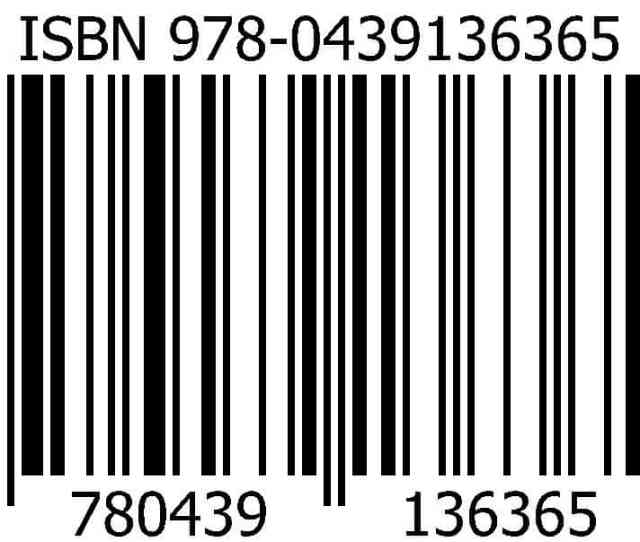 Isbn Barcodes For Books