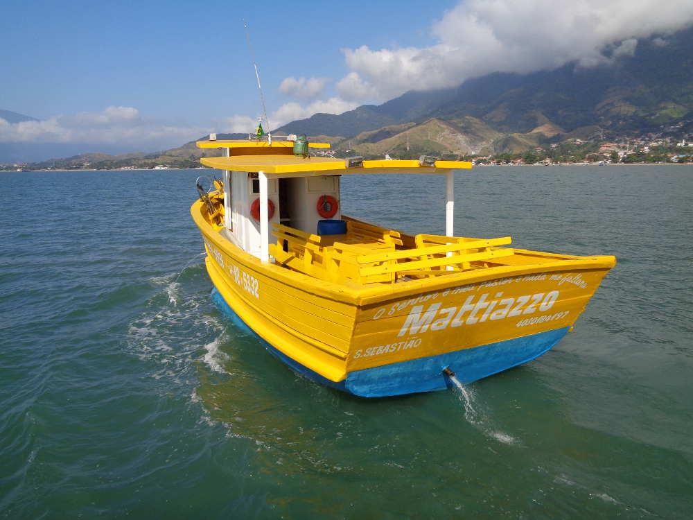 Tuta pesca, barco Mattiazzo pescaria sao sebastiao ilhabela