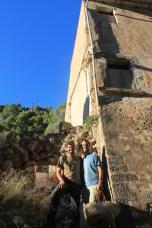 Joan Tomàs y Damià en la Serra de Tramuntana