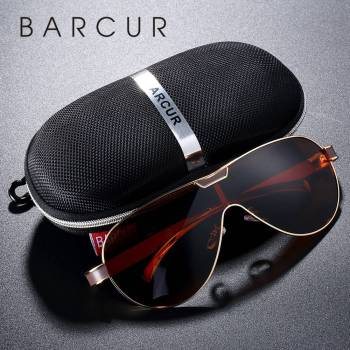 BARCUR Drving Polarized Sunglasses BC8227 Sunglasses for Men
