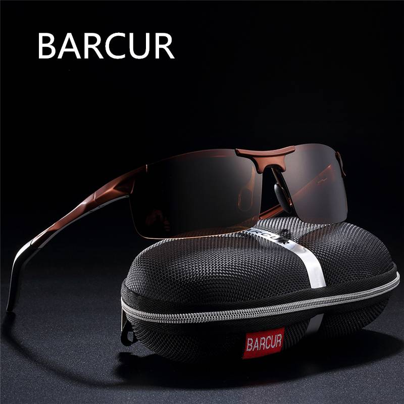 BARCUR Classic Design Aluminum Sunglasses Men Women HD Polarized Anti-Reflective BC8274 Sunglasses for Men Aluminium Sunglasses Sunglasses for Women