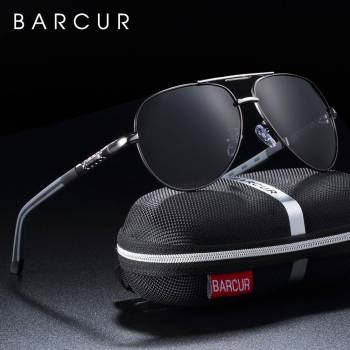 BARCUR Men Women Sunglasses Polarized UV400 Protection Driving BC8725 Sunglasses for Men Round Series Sunglasses Sunglasses for Women