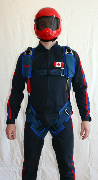 skydiver suit