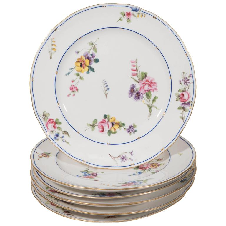 Antique Set Dozen Sèvres Porcelain Dishes  sc 1 st  Bardith & Sets u0026 Groups of Dinnerware Archives - Bardith Ltd.