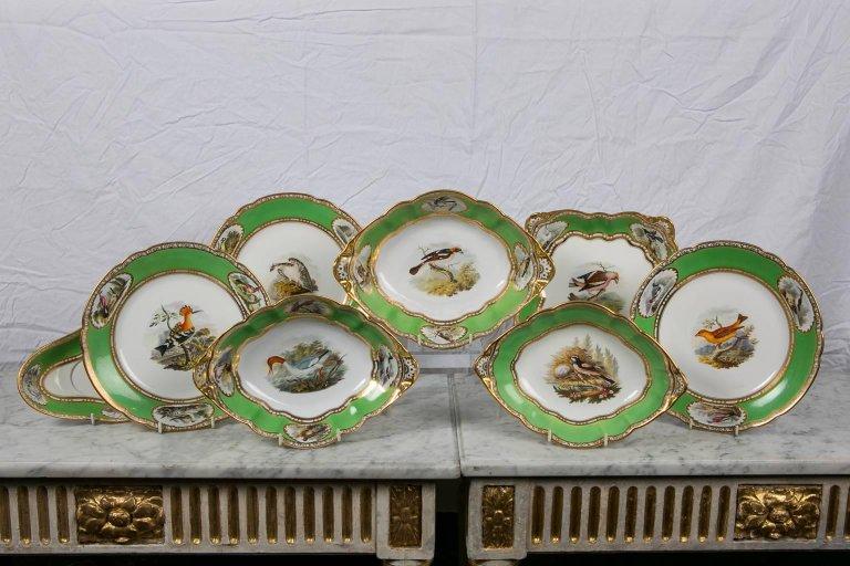 Spode Ornithological Dinner Service & Spode Plates Birds | Set of Spode Ornithological Dishes -- Bardith Ltd.