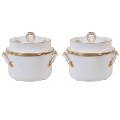 English Porcelain Ice Pails, early 19th c.
