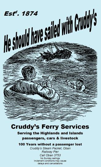 Cruddy's supports Bard of Tweeddale