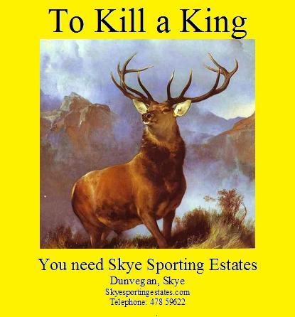 Skye Sporting Estates Sponsors Bard of Tweedale