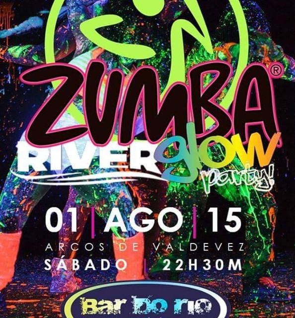Zumba River Glow Party