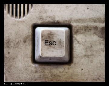 Poesía en Bardulias: Si Escapar de...