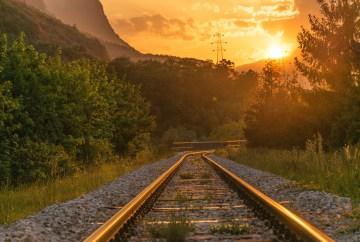 Poesía en Bardulias: Tarde desde el tren