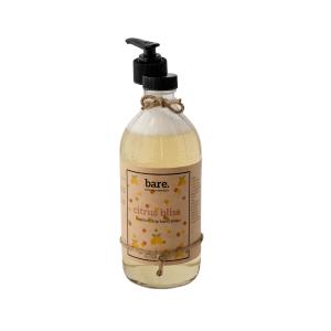 citrus bliss - moisturizing hand soap 16oz - bare. cleaning essentials