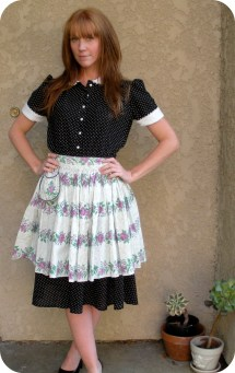 Wear Long Skirt Barefoot & Vintage
