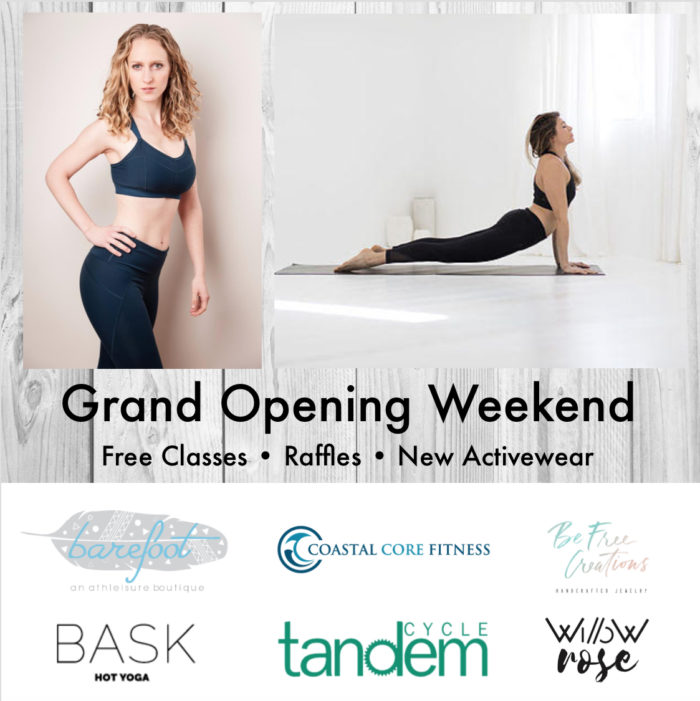 grand opening weekend at barefoot in spring lake nj
