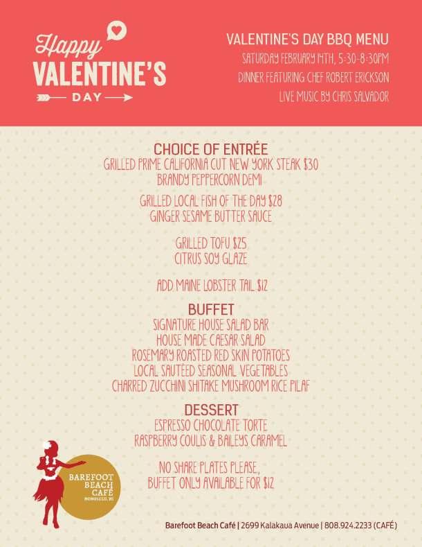 Valentines Day Menu_8.5x11 Flyer