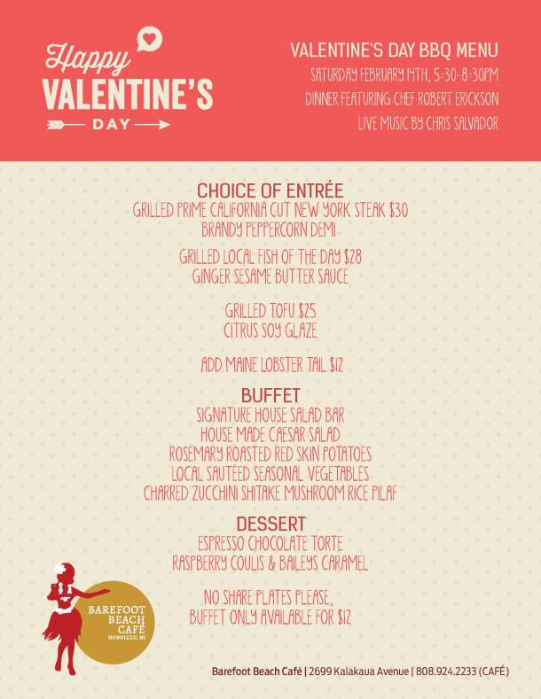 Valentines Day Menu_8.5x11 Flyer