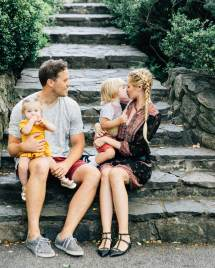 Central Park With Fam - Barefoot Blonde Amber