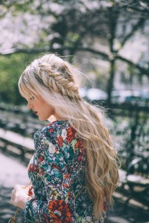 Blonde Braid Hairstyles