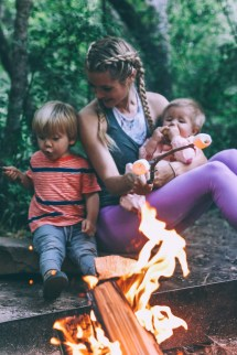 Barefoot Family Camping Trip