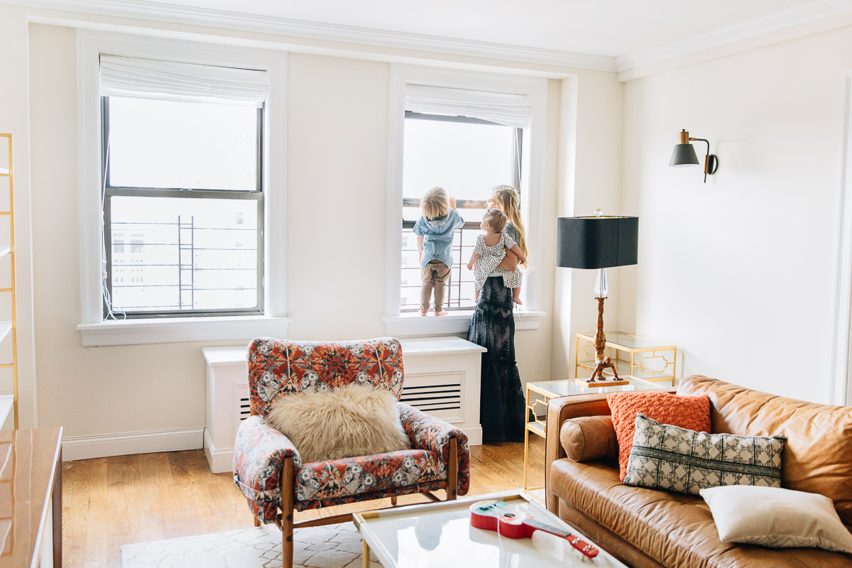 Our New York City Living Room  Play Room Reveal  Barefoot Blonde by Amber Fillerup Clark