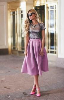 Silk Skirt Barefoot Blonde