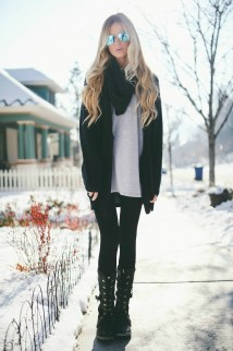 Snow Winter Outfits Ideas