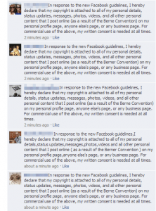 Facebook User Response