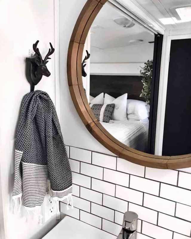 rv bathroom ideas subway tile
