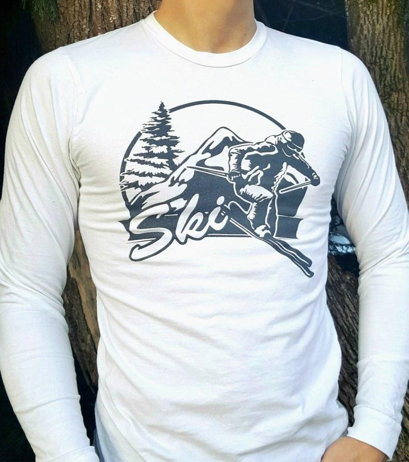 Unisex Ski Tee