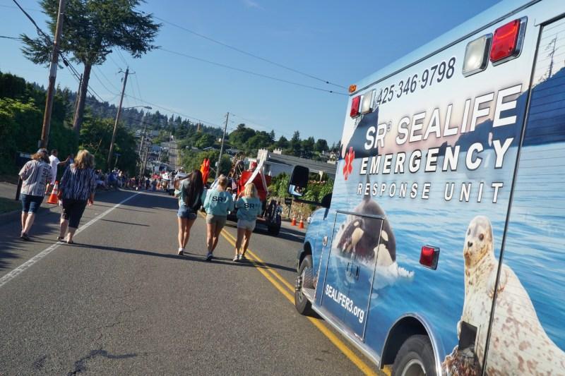 SR3 Ambulance in Parade
