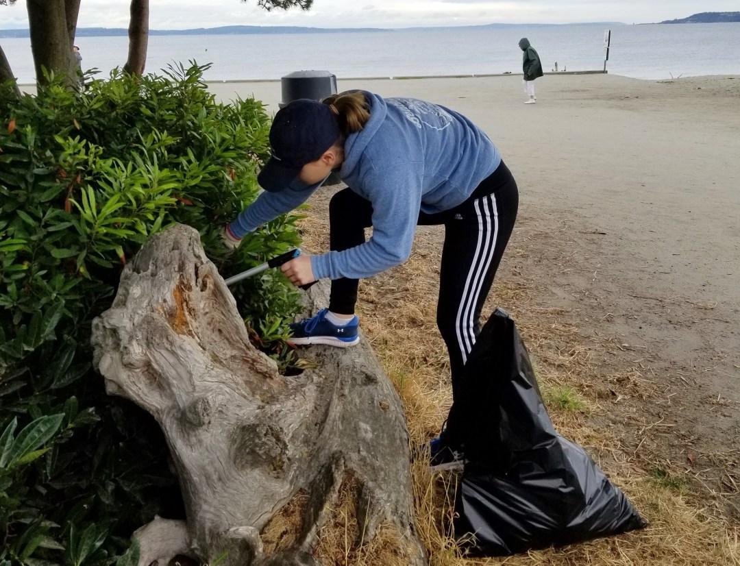 Beach Trash Cleanup