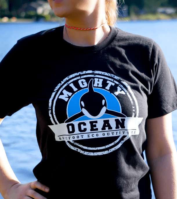 Mighty Ocean Orca Tee Product Image