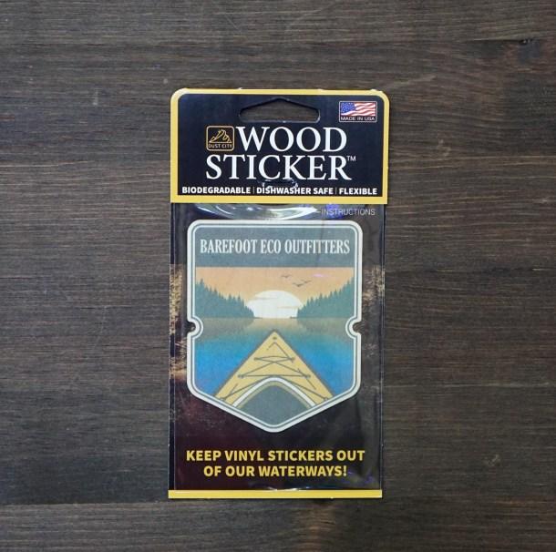 Kayak Sticker Single Pack