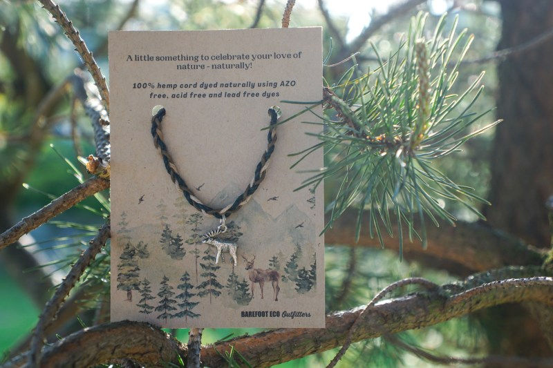 Moose Hemp Bracelet
